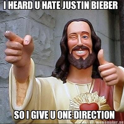 Justin Bieber Meme on Net I Heard U Hate Justin Bieber So I Give U One ...