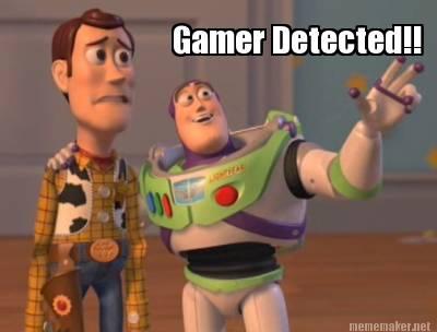 Resultado de imagem para gamer detected