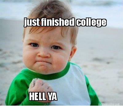 Image result for finished college
