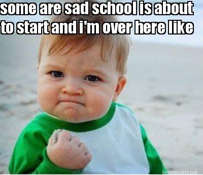 school starting