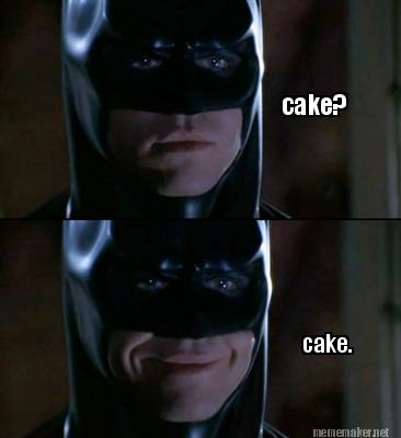 Meme maker cake cake