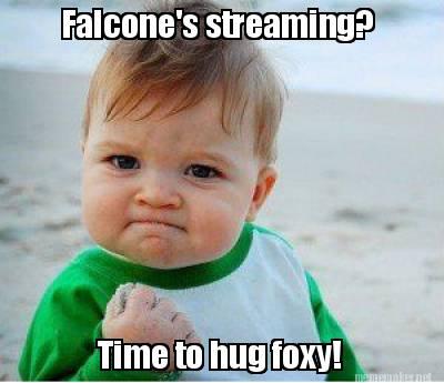 Falcone's streaming?