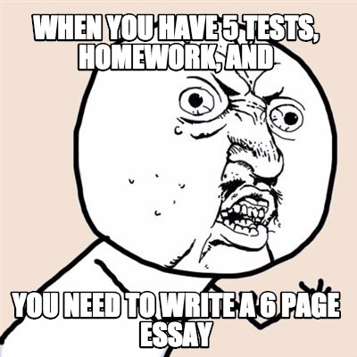 5 to 6 page essay!! ?