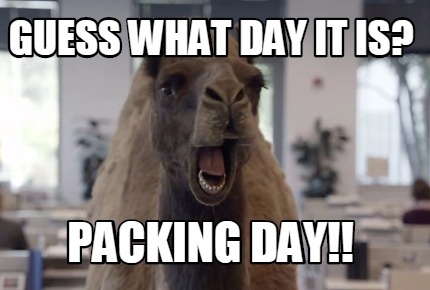 Image result for packing memes