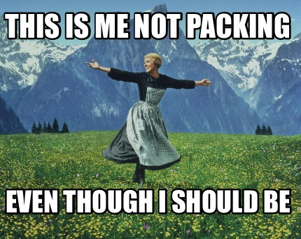 Image result for packing meme