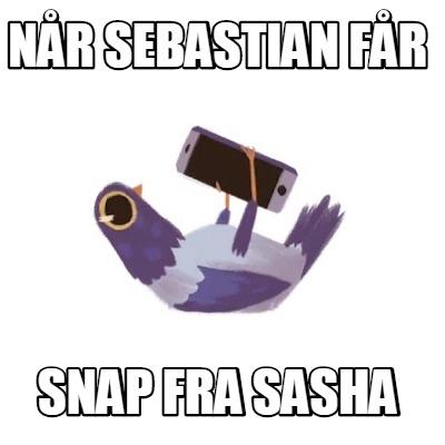 Snap fra sasha